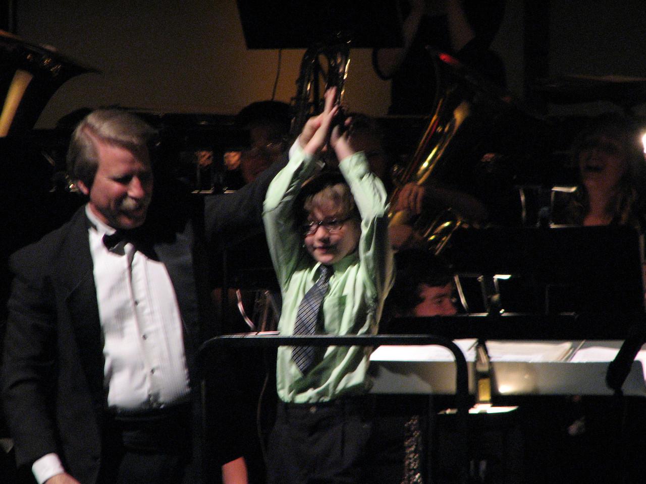 2008 05 03 Sat - Symphonic Winds POPS Concert child conductor 3