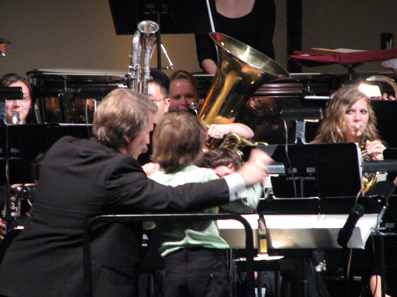 2008 05 03 Sat - Symphonic Winds POPS Concert child conductor 1