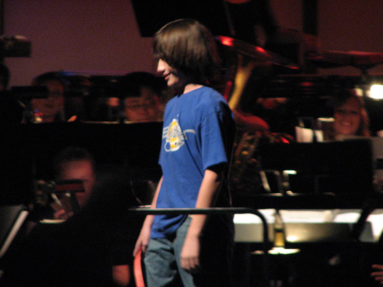2008 05 03 Sat - Symphonic Winds POPS Concert child conductor 5