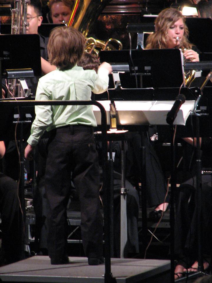 2008 05 03 Sat - Symphonic Winds POPS Concert child conductor 2