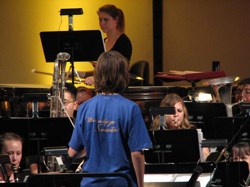 2008 05 03 Sat - Symphonic Winds POPS Concert child conductor 4