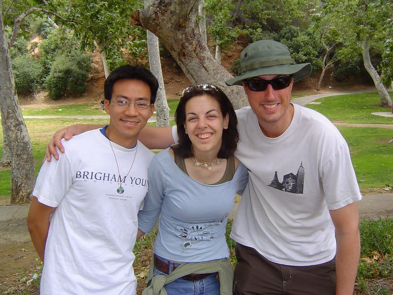 Ben Yu, Priscilla, & Brian Sterling