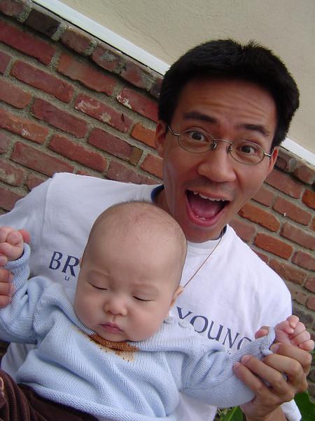 Ben Yu & baby Kylan Kim 2