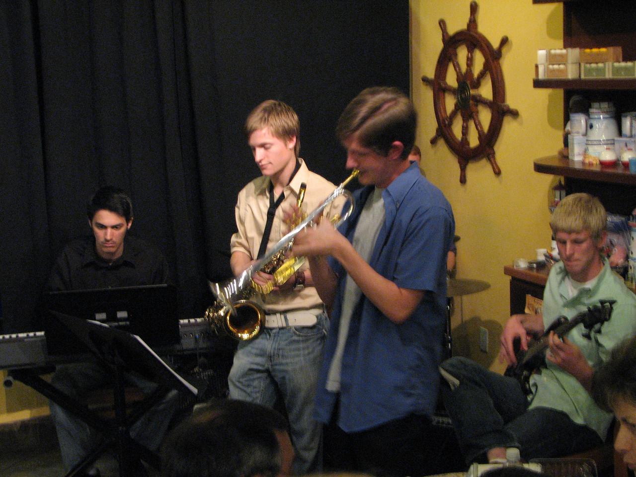 2008 03 19 Wed - Trevor Gomes et al  jazz combo @ The Big Straw 1