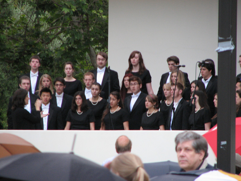 2008 05 23 Fri - Biola Chorales @ graduate students graduation ceremony