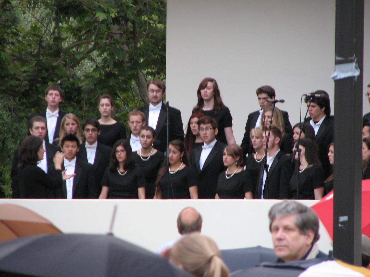 2008 05 23 Fri - Biola Chorales @ graduate students graduation ceremony