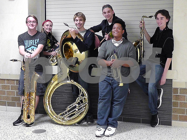 Upper Octave, a brass band made up of DeKalb High School band students Noah Brooks, Chris Allen, Maddi Hoth, Joseph Rathke, Devonte Merrick, Colton Kammes and Dylan Propheter. is one of the talents that will perform Saturday at the Kishwaukee Kiwanis Show.