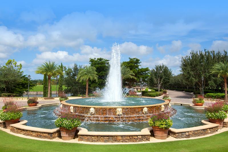 Talis Park Fountain
