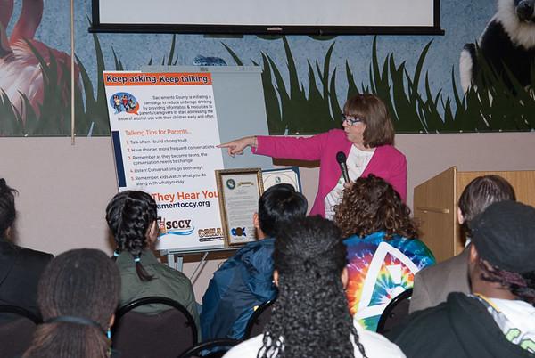 Dr. Sherri Heller, Director, Sacramento County Department of Health & Human Services.