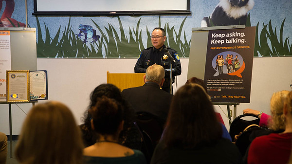 Sacramento Police Chief Brian Louie.