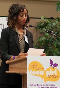 Tiesha describes Crittenton's PEARLS program
