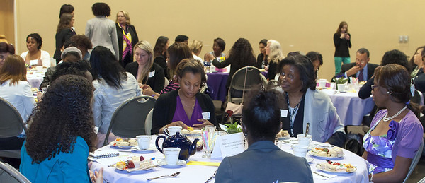 Guests answer questions posed by Crittenton teen girls