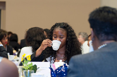 The High Tea experience is a good way to discuss important topics