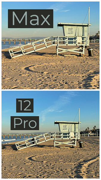 Apple iPhone 12 Pro Max camera great, differences hard to see