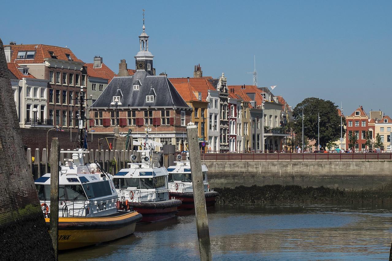 Vlissingen Streetscene With pilot boats