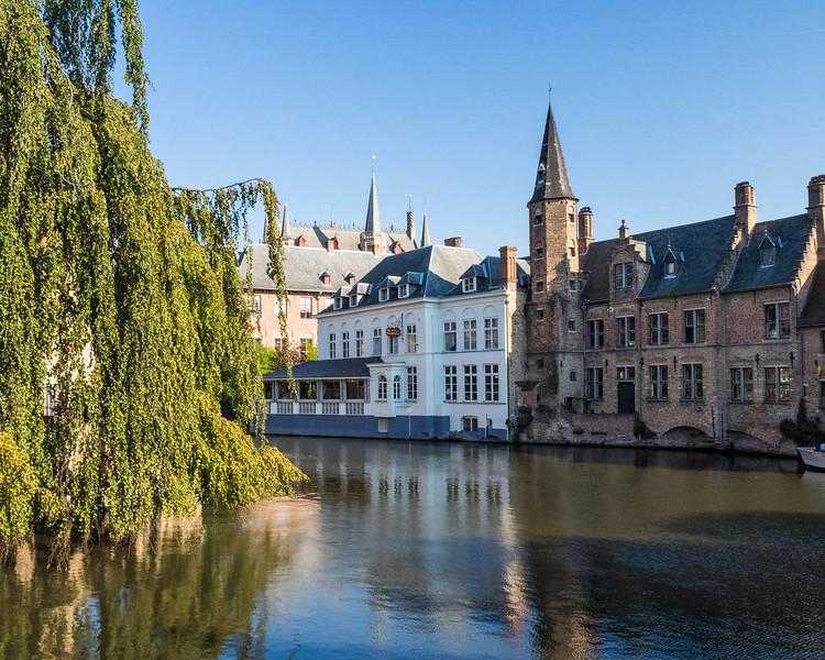 Canal cruise, Belgium