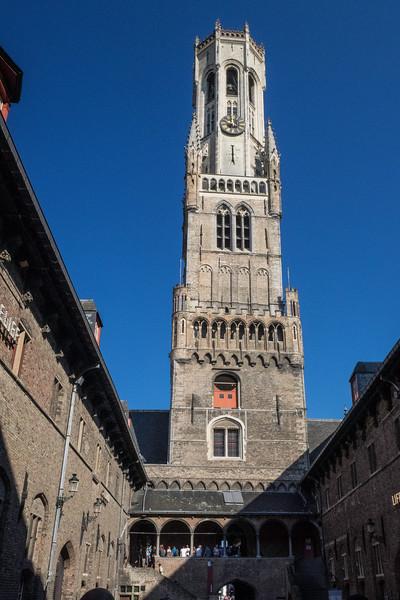 The Belfry Bruges, Belgium