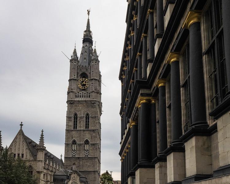 Streetscene Ghent, Belgium