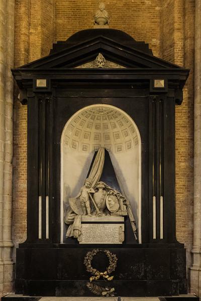Nieuwe Kerk Delft, the Netherlands built 1351 Memorial for Hugo Grotius
