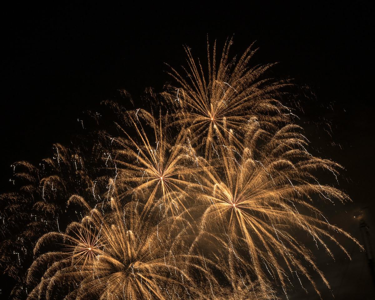 Sail Amsterdam fireworks (Vuurwerk)