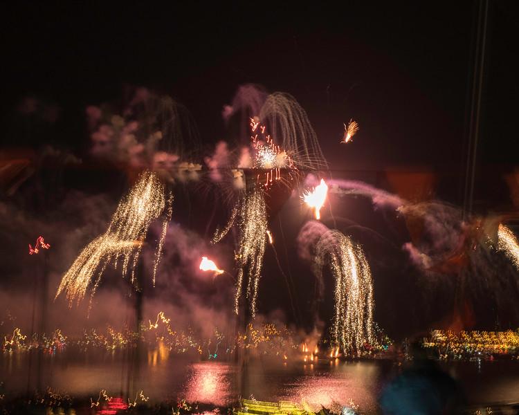 Fireworks at Sail Amsterdam