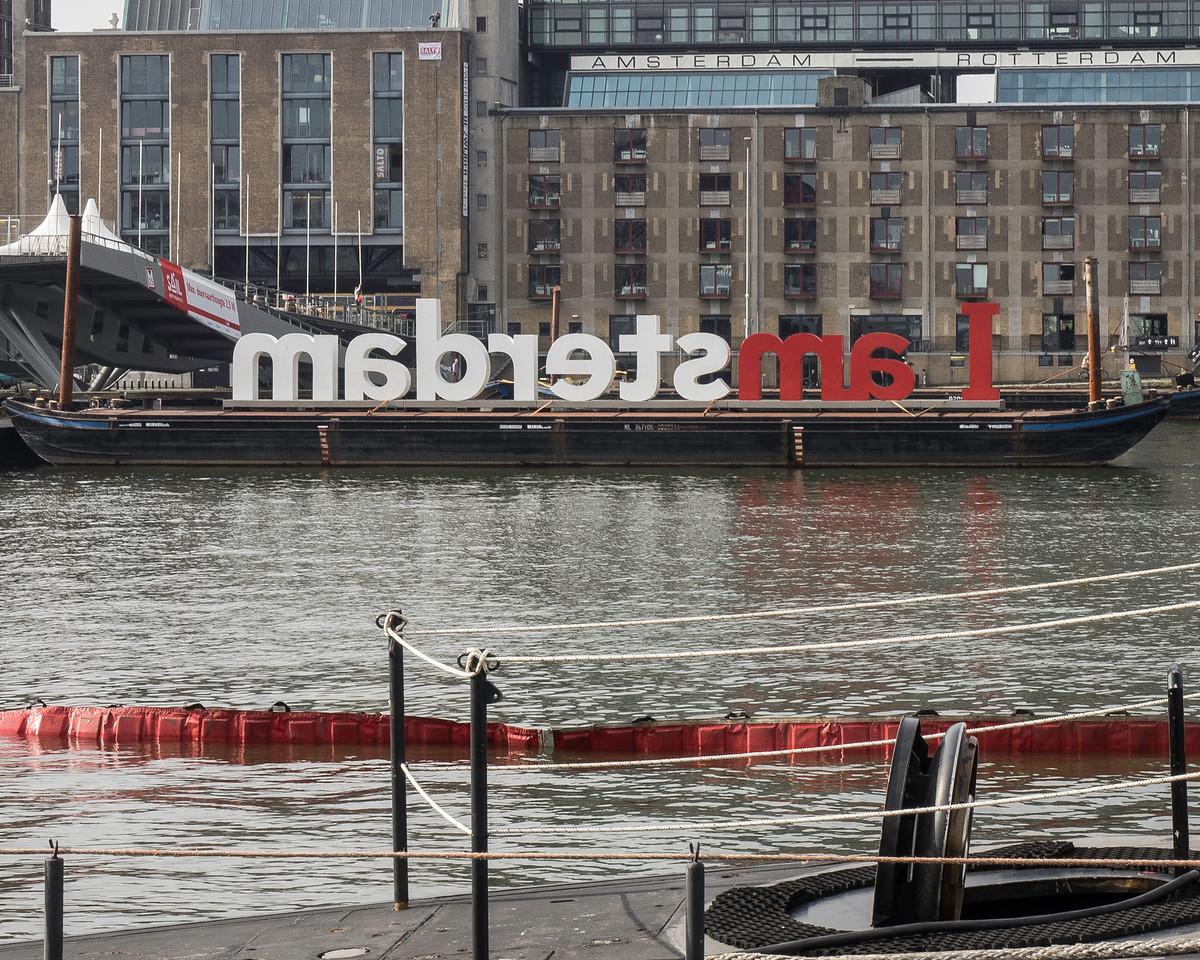 The slogan of the event Iamsterdam