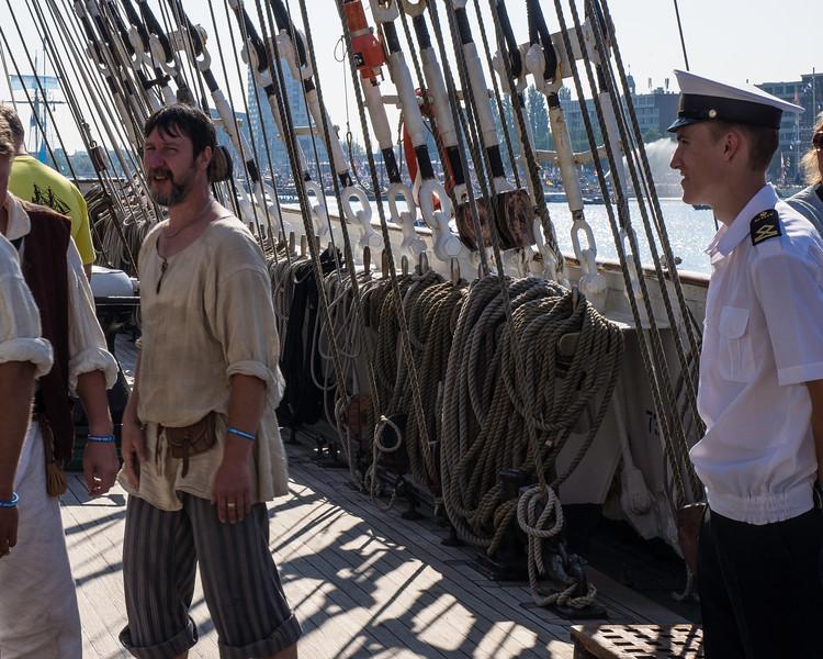 On board the Sedov