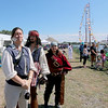 Jonathan Tressler - The News-Herald<br /> Some familiar characters were on hand during Harbor Fest at Tall Ships Fairport Harbor July 7-9.