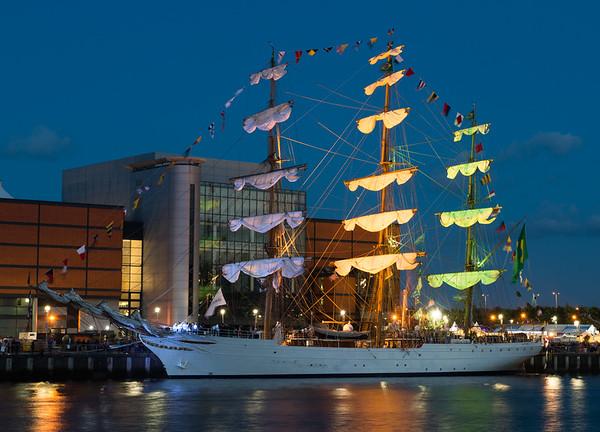 Cisne Branco - Tall Ships, Belfast 2015.