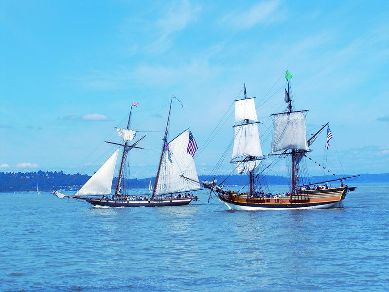 Tall ship battle