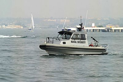 Naval Security boat