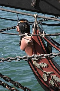 Figurehead of Spirit Of Newport