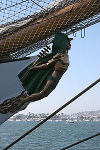 Cuauhtemoc figurehead