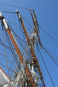 Mast of Pilgrim