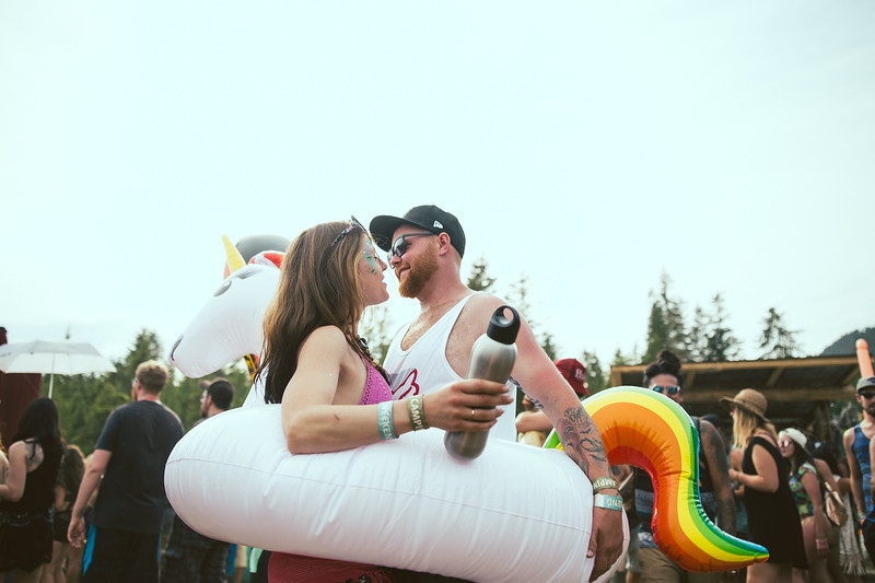 """Champagne and Floaty Party<br /> © Lindsey Blane 