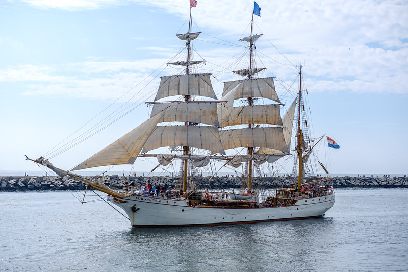 Tall-ship bark EUROPA