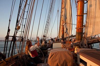 Lynx entering Channel Island Harbor