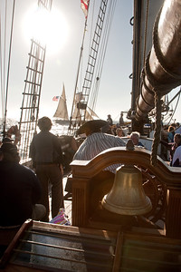 Battle re-enactment sail