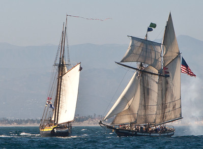 Tall ships Spirit of Dana Point, Lynx