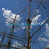 Tall ship's rigging
