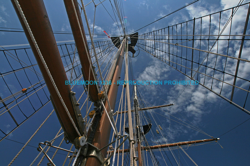 Mast, booms and halyards