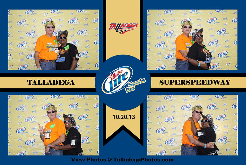 Talladega Miller Lite Sports Bar 2013