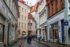 No cars allowed in Tallinn Old Town streets. The town belongs to pedestrians.