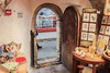 Ancient doorway into gift shop, built in the old fortified wall.