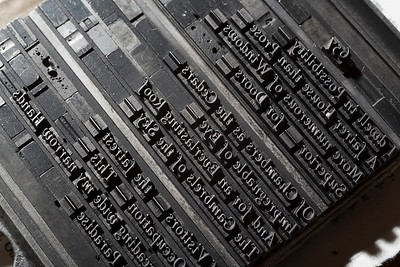 12-point Tallone type Italic