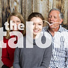 The Harris family attend the Talon Holiday Photoshoot at Argyle High School in Argyle, Texas, on November, 12, 2017. (Lauren Landrum / The Talon News)