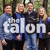 The Knowles family takes their family portraits in Argyle, Texas, on November, 10, 2018. (Lauren Landrum/ The Talon News)