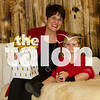 Montgomery family sits for Talon Holiday Photoshoot at Talon Portrait Studio in Argyle, Texas, on November, 5, 2017. (Lauren Landrum / The Talon News)