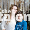 The Schmidt family attend the Holiday Photoshoot at Argyle High School in Argyle, Texas, on November, 12, 2017. (Lauren Landrum / The Talon News)