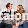 Future Mr. & Mrs. Koons take their Holiday portraits in Argyle, Texas, on November, 11, 2018. (Lauren Landrum/ The Talon News)